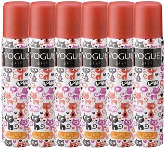 Vogue Girl Cats Deodorant Deospray Voordeelverpakking