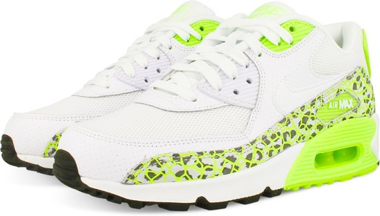 7eb06d4d81ead7 NIKE AIR MAX 90 PREMIUM WMNS 443817 103 - Sneakers - Vrouwen - Wit/Groen