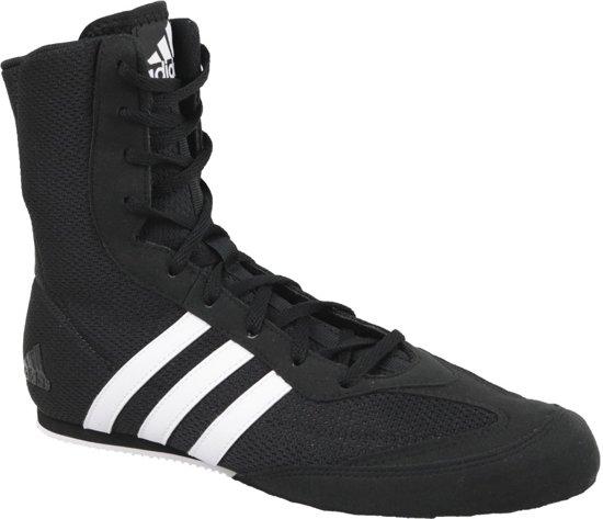 8df4f6b6bbd bol.com | adidas Boksschoenen Box-Hog 2 Zwart/Wit Maat 38 2/3 (5.5)