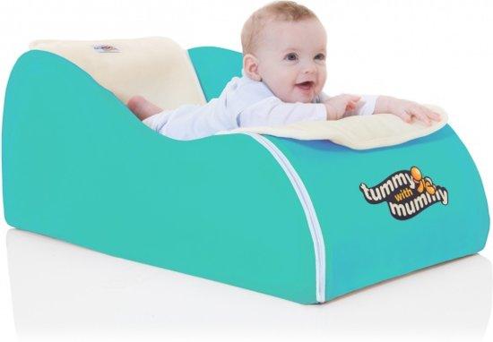 Zitstoel Voor Baby.Bol Com Babystoeltje Tummy With Mummy Aqua