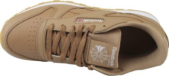 Vrouwen 38 Eu Sneakers Classic Reebok Maat Leather Cn5610 Bruin 0xc1t1BSwq