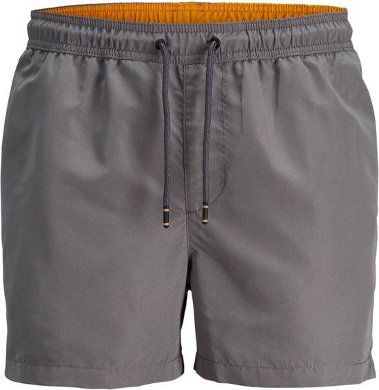 5fab815c95a32c bol.com | Jack & Jones Zwembroek - Maat XL - Mannen - grijs/oranje