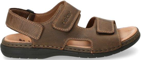 Rieker Heren bruin sandaal maat 44
