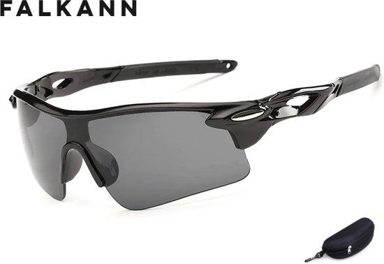 c1254a5b9bfc3d Fietsbril met hoes - Sportbril - Zonnebril - Snelle Planga - Zwart