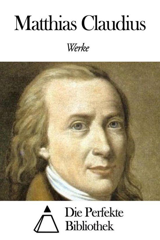 Werke von Matthias Claudius