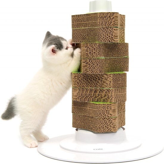 Cat-It Senses 2.0 Scratcher - Krabpaal - Wit - 15 x 43,5 x 60 cm