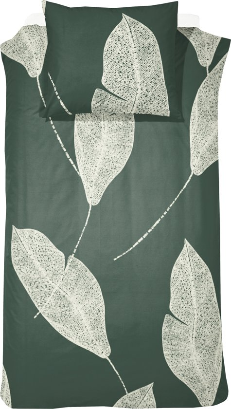 Damai Dekbedovertrekset katoen 140 x 200/220 cm strelitzia dark green