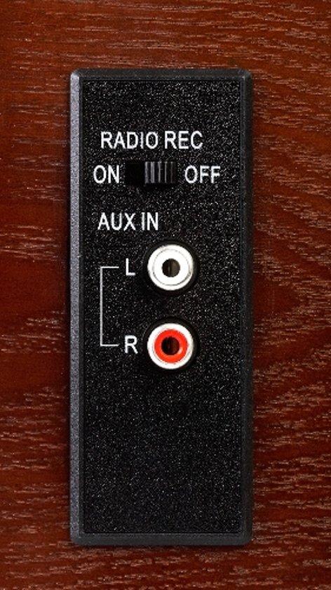 Camry CR 1112 - Retro platenspeler - CD/USB/MP3 - recorder systeem
