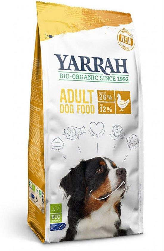 Yarrah Dog 100% Biologisch Hondenvoer - Kip - 15 kg
