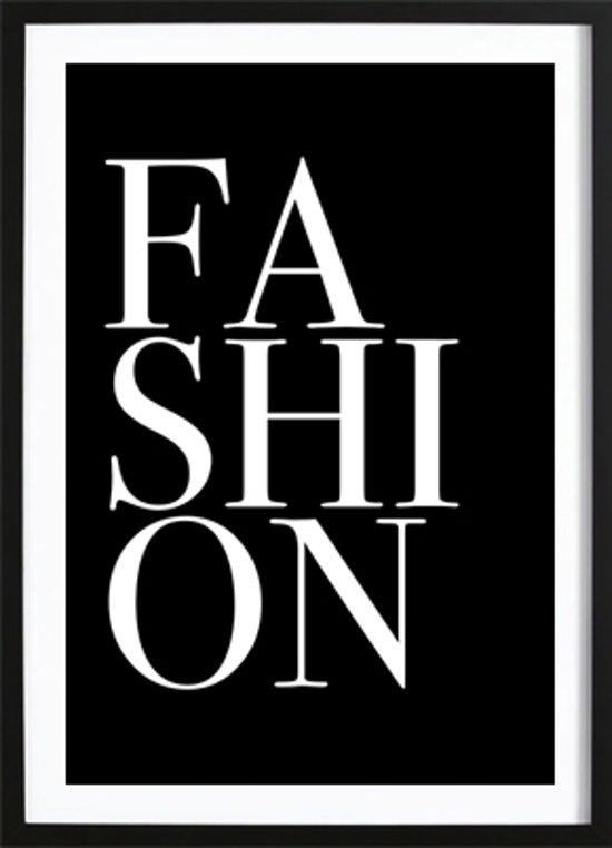 Fashion (70x100cm) - Tekst - Poster - Print - Wallified - Fashion - Poster - Print - Wallified