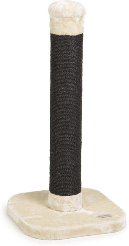 Beeztees Wumblo - Krabpaal - Creme - 38x38x80 cm
