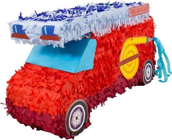Pinata Fire Truck 55x30xm Valentinaa