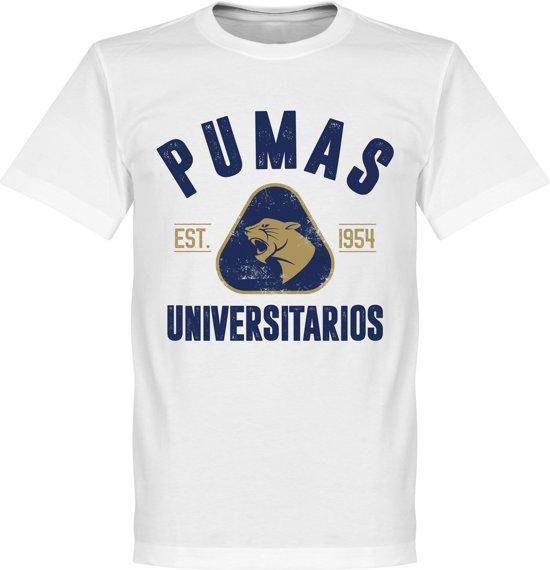 T Pumas Established L Unam shirtWit htsQdrC