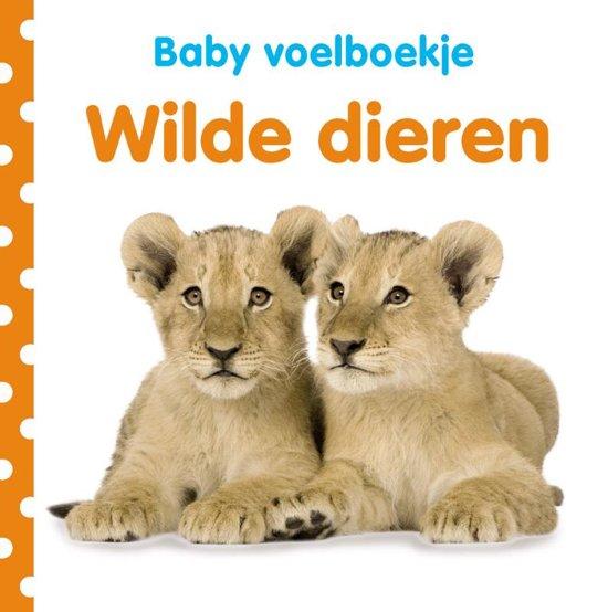 Baby voelboekje Wilde dieren