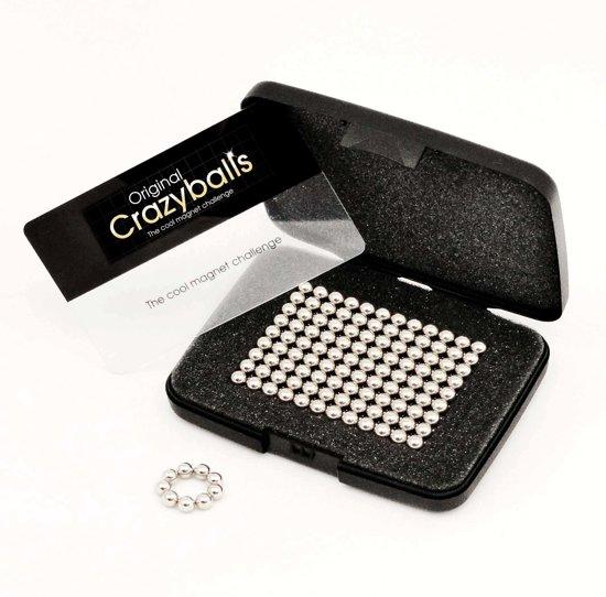 Neocube magneetballetjes | magnetische kogeltjes puzzle |216 zilveren bolletjes 5mm | zilveren magneetjes|