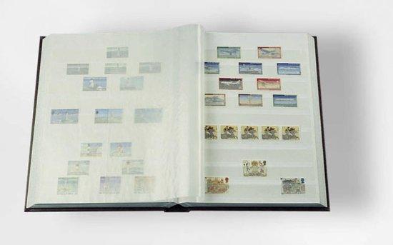 Spiksplinternieuw bol.com | Luxe insteekalbum postzegels Comfort W32 bordeauxrood BU-02