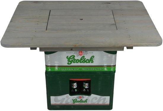 Bierkrattafel - Statafel - Hout