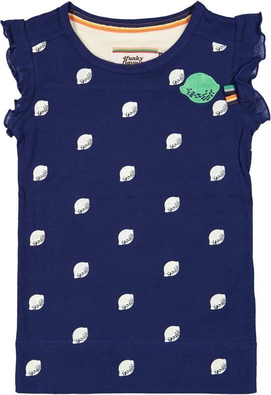 ffb9ce10c09adf 4funkyflavours Meisjes T-shirt - Multi - Maat 110-116