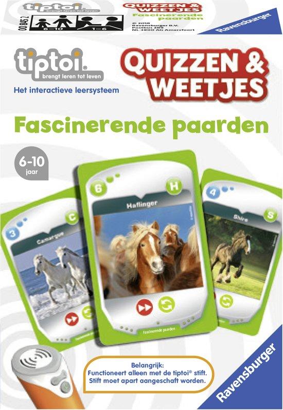 tiptoi® Quizzen en weetjes Paarden