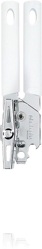 Brabantia Classic Blikopener - Incl. Metalen Draaikruk - Wit