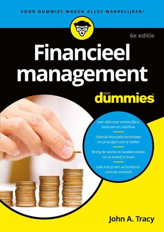 Financieel management voor Dummie