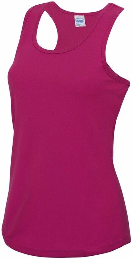 Fuchsia sport singlet voor dames M (38) - sport hemdje