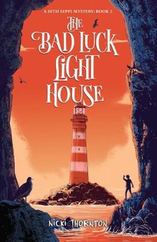 Boek cover Bad luck lighthouse van Nicki Thornton (Paperback)