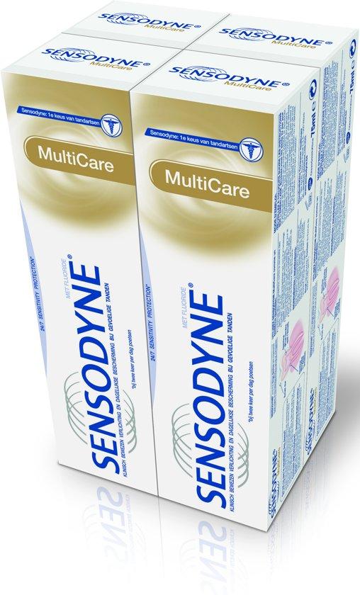 bol.com | Sensodyne Multicare - 4x 75 ml - Tandpasta