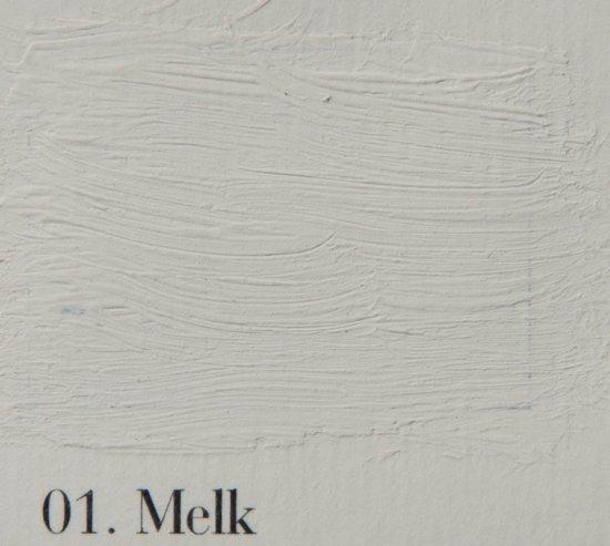 l' Authentique krijtverf, kleur 01 Melk, 2.5 lit.