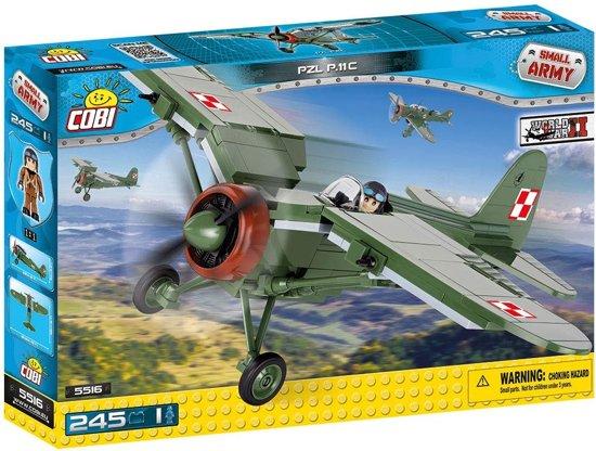Cobi Small Army WW2 - PZL P.11C (5516)