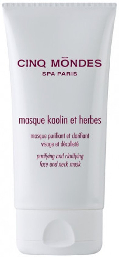 Cinq Mondes Kaolin and Herbs Mask