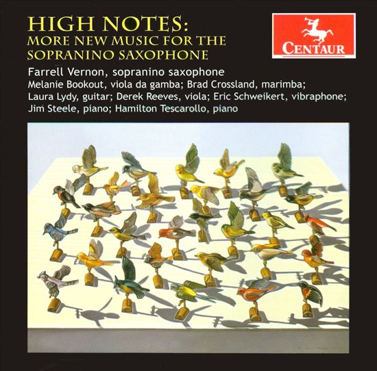 High Notes: More New Music For Sopranino Saxophone
