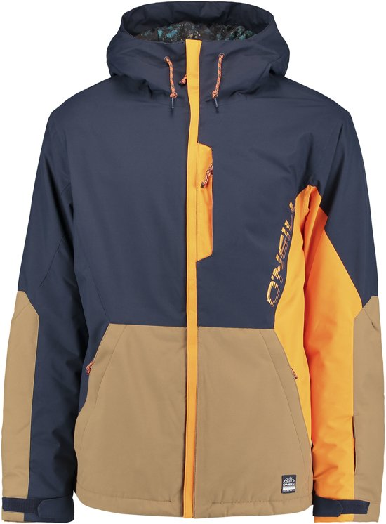 987dc19918f07d O Neill Perform Men Suburbs Wintersportjas - Maat M - Mannen - blauw bruin