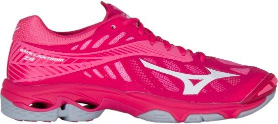 Mizuno Wave Lightning Z4  Sportschoenen - Maat 38.5 - Vrouwen - roze/wit