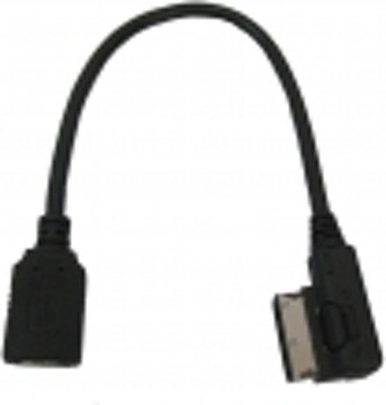 Usb kabel media-in audi a1 / a3 / a4 / a5 / a7 / q7