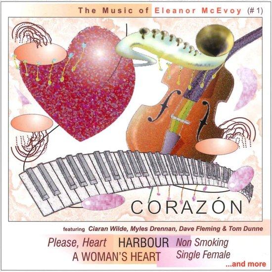 CD cover van The Music of Eleanor McEvoy van Corazon