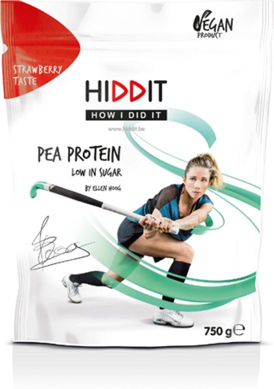 Ellen Hoog Pea Protein Strawberry Taste - 750g