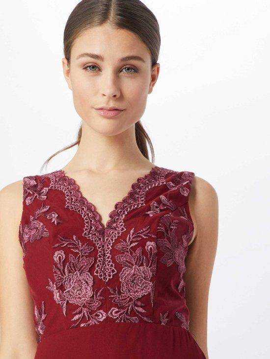 Chi London Avondjurk Thalia Dress Bourgogne-8 (36) acxc1lyC