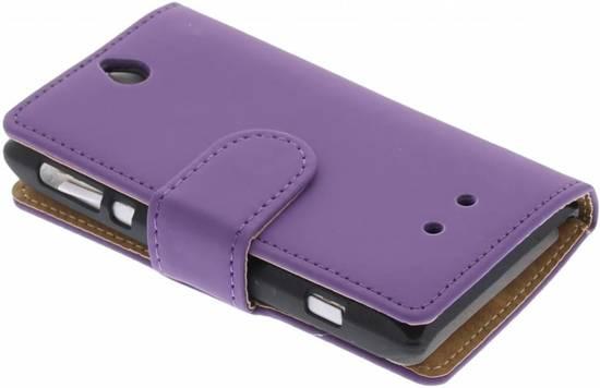 Couverture Violette Livre De Scarole Pour Sony Xperia E 3T1U7