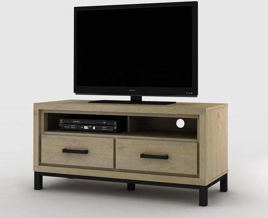 Bolcom Tv Kast Baltimore In Beaufort Eik 120 Cm