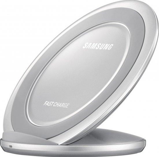 Samsung Origineel Wireleless Fast Charger Stand Type Zilver voor Samsung Galaxy S7 (Edge) in Melle
