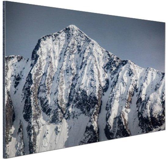 Himalaya gebergte India Aluminium 120x80 cm - Foto print op Aluminium (metaal wanddecoratie)