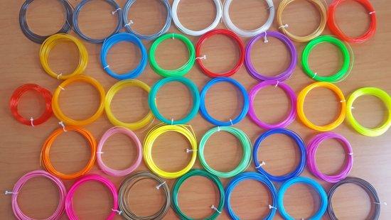 36x10m PLA filament van 1,75mm! | Incl. 3DPad a €9,95 |  Excl. 3d pen!
