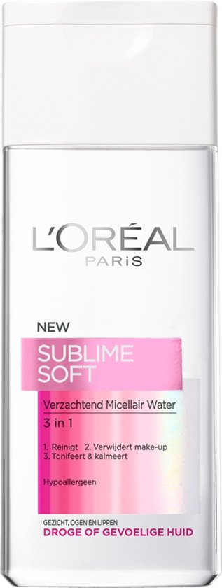 L'Oréal Paris Sublime Soft Micellair water- 200 ml