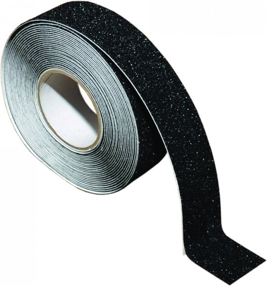 Anti-slip Tape 25mm x 5meter zwart