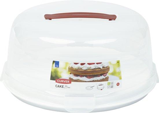 Curver Chef@home Taartdoos Hoog - 35x35xh15 - Sneeuwwit