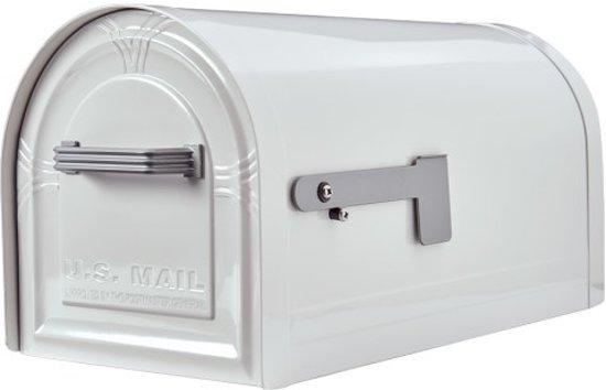 US Mailbox grondpaal Brighton, extra sterk, ook in wit verkrijgbaar