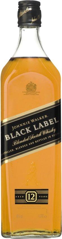 Johnnie Walker Black Label - 1 x 1 L