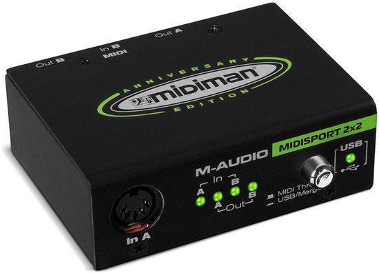 M-Audio Midisport 2x2 (anniversary Editie)