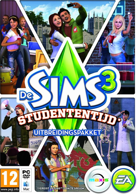 De Sims 3: Studententijd - Windows/MAC